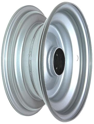 "6""x2.50"" Steel Rim, 52mm Bore, 85mm Hub Length, NO BRGS/BUSHES"