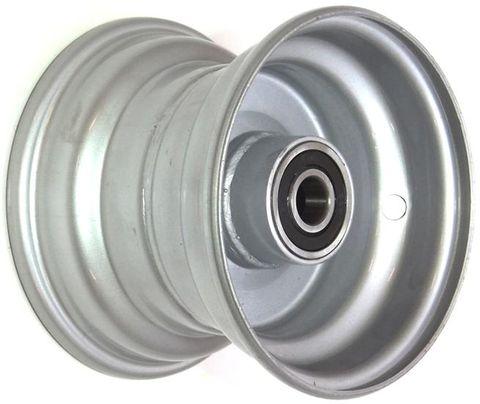 """6""""x4.50"""" Steel Rim, 52mm Bore, 85mm Hub Length, NO BRGS/BUSHES"""