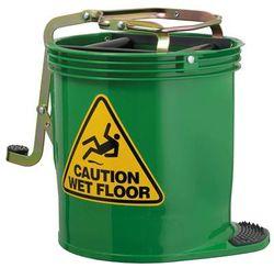 Mop Bucket Roller Wringer 15L GREEN