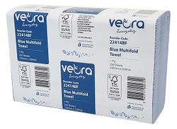 Hand Towel Veora™ Everyday Multifold Blue 250shtx12pks