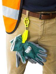 Glove Clip Keeper - Yellow
