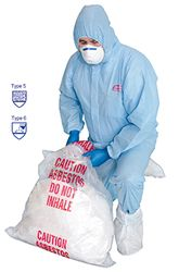 Coverall Hazguard® SMS White XLGE
