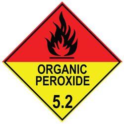 Labels ORGANIC PEROXIDE 5.2 100x100mm (500)