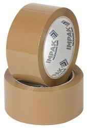 Packaging Tape Impak 805 48mmx75m Brown