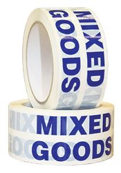 Tape MIXED GOODS Blue/White 48mmx66m
