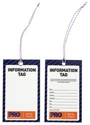 Safety Tags - Information (100/Pk)