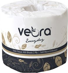 Toilet Paper Veora™ Everyday 2ply 400sheets 48rls