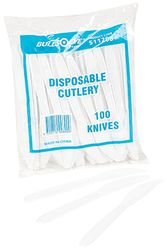 Plastic Knives White 100/pk