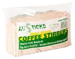 Wooden Stirrers 1000/pk