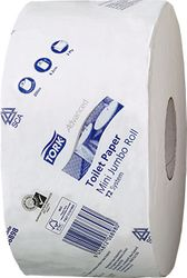 Mini Jumbo Toilet Paper Tork T2 Advanced 200mx12rls