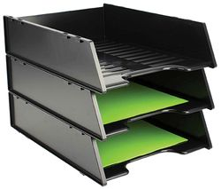 Document Tray A4 Multi-Fit Black