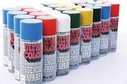 Stencil Spray Red 350gram