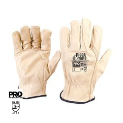 Leather Rigger Glove Cow Hide XXL