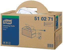 Tork 510 Wiper Folded Handy Box Blue 300/ctn