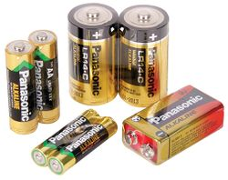 Batteries Panasonic Alkaline AAA 24/pk