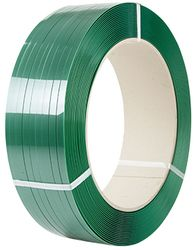 PET Strapping Smooth Green H/D 19mmx1.0x1000m