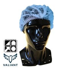 Hairnets Valiant® Crimped Blue (1000)