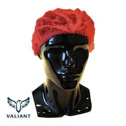Hairnets Valiant® Crimped Red (1000)