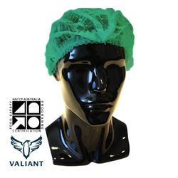 Hairnets Valiant® Crimped Green (1000)
