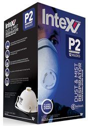 Dust Masks P2 with Valve (12)