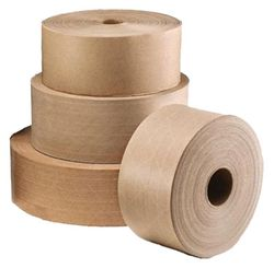 WATER ACTIVATED PAPER TAPE- REINFORCED