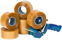 Starter Pack e-Tape® 1 (6rls+Dispenser)