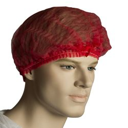 Hairnets Crimped Red (1000)
