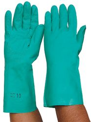 Glove Nitrile Chemical 33cm MEDIUM