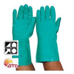 Glove Nitrile Chemical 33cm SMALL