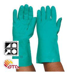 Glove Nitrile Chemical 33cm SMALL