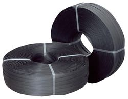 PP Strapping H/Duty Black 15mmx1000m