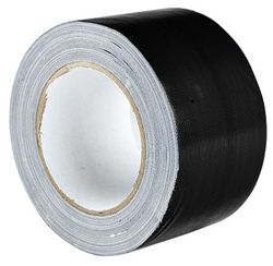 Cloth Tape Superior 72mmx25m Black