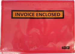 Doculopes Impak® INV ENCLOSED 125x175mm A6 Red (1000)