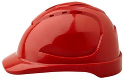 Vented Hard Hat V6 Red