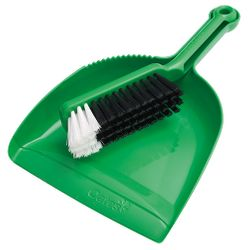 Dustpan & Brush Set Premium (Green)