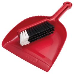 Dustpan & Brush Set Premium (Red)