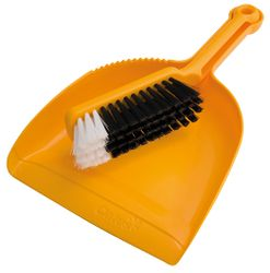 Dustpan & Brush Set Premium (Yellow)