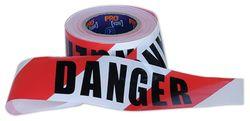 Barricade Tape Red/White DANGER 75mmX100m
