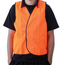 Safety Vest Day Time Orange Small
