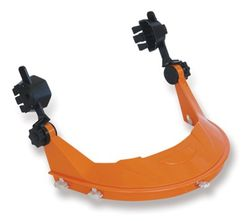 Hard Hat Brow Guard- Orange