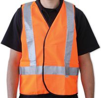 REFLECTIVE SAFETY VESTS - ORANGE