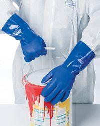 Glove Trojan PVC Blue Size 10