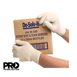 POLY COTTON LINER GLOVES