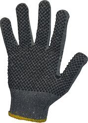 POLY COTTON POLKA DOT GLOVES