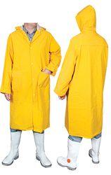 Rain Coat Yellow PVC Full Length XLGE
