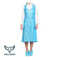 Apron PE Disposable Boxed Blue 1250mm Valiant® 1000/ctn