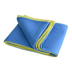 Quilted Furniture Blanket HD Cotton 1.8mx3.4m Blue