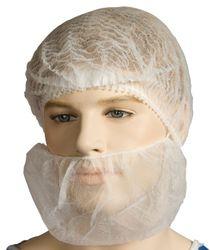 PP Beard Covers Bastion Single Loop White (1000)