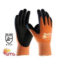 Glove MaxiFlex® Ultimate Size 10 Fluoro Orange