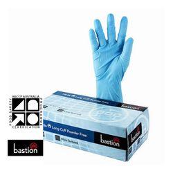 Nitrile Gloves SuperTouch Long Cuff Blue PF XXL (90)